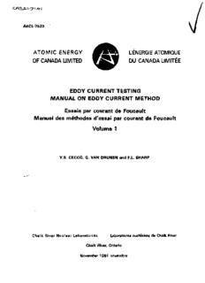 EDDY CURRENT TESTING MANUAL ON EDDY CURRENT METHOD