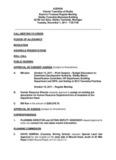 AGENDA Charter Township of Shelby Board of Trustees Regular