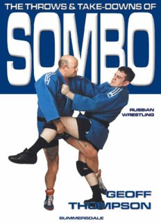 The Throws and Takedowns of Sombo  Martial Arts   Self Defense