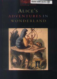 Penguin Readers Alice's Adventures in Wonderland Level 2