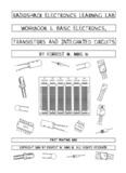 RADIOSHACK ELECTRONICS LEARNING LAB workbook 1. BASIC ELECTRONICS ...