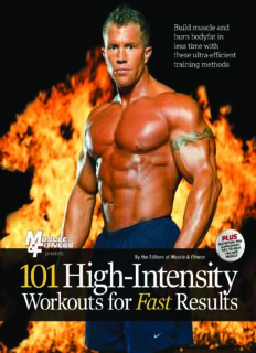 101 High Intensity Workouts for Fast Results (101 Workouts)