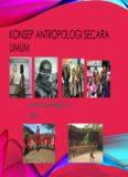 Konsep Antropologi secara Umum