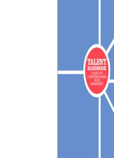 TALENT HANDBOOK: A Guide for Competency-Based Talent Management