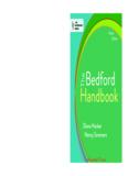 The Bedford Handbook, 9th Edition
