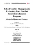 School Conflict Management: Evaluating Your Conflict Resolution