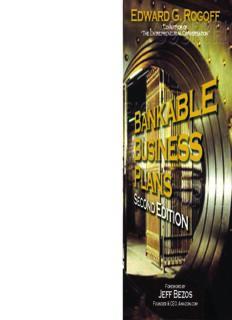 Bankable Business Plans: Second Edition (Bankable Business Plans)