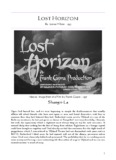 LOST HORIZON Shangri-La - Changeling Aspects