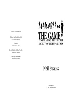 The Game by Neil Strauss PDF