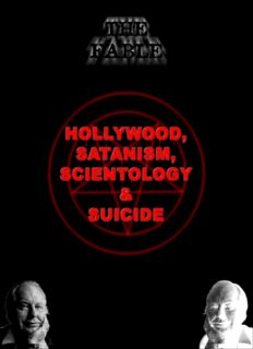 Hollywood, Satanism, Scientology and Suicide