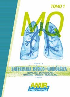 Manual AMIR Enfermería / Enfermería Médico-Quirúrgica Tomo 1 / 6.ª Edición