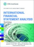 International Financial Statement Analysis (CFA Institute Investment Series)