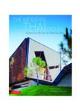 The Modern Thai House  Innovative Designs in Tropical Asia
