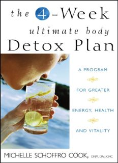 The 4-week Ultimate Body Detox Plan PDF EBook Download-FREE