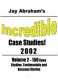 Jay Abraham's Volume 2