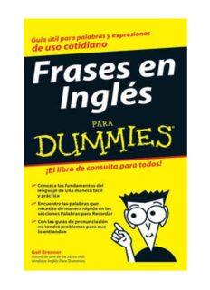 Frases en inglés para Dummies - Gail Brenner