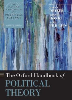 The Oxford Handbook of Political Theory (Oxford Handbooks of Political Science)