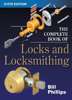 The Complete Book of Locks and Locksmithing, 6th Edition (Complete Book of Locks & Locksmithing)