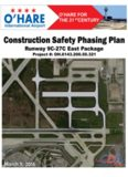 O'Hare International Airport Construction Safety Phasing Plan Runway 9C-27C East Package ...