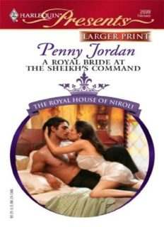 A Royal Bride At The Sheikh's Command (Harlequin Large Print Presents)