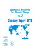 Su marv Report 1973 - NOAA Earth System Research Laboratory
