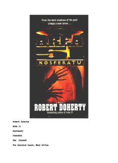 Robert Doherty - Area 51 - Nosferatu