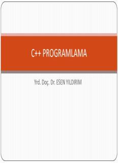 C++ Programlama