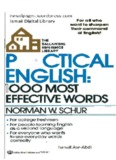 Practical English 1000 Most Effective Words