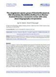 The integripennis species group of Geocharidius Jeannel, 1963