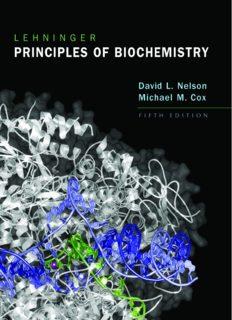 Lehninger Principles of Biochemistry, 5th Edition