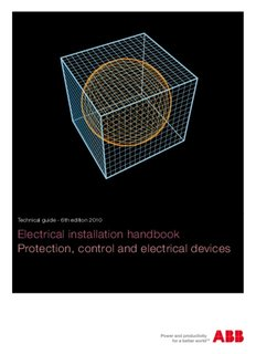 Electrical installation handbook Protection, control and electrical devices
