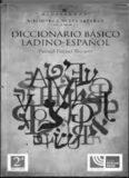 Recuero Pascual Pascual, Diccionario Básico Ladino-Español
