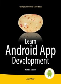 Learn Android App Development: Quickly build your first Android apps