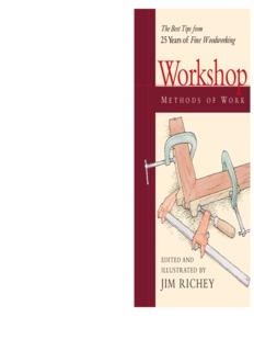 Workshop Fine Woodworking