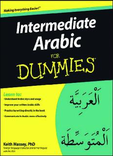 Intermediate Arabic For Dummies