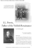 I.L. Peretz, YIVO Institute for Jewish Research Archives