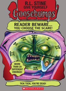 Give Yourself Goosebumps 2 - tick tock youre dead