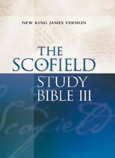 C. I. Scofield's 'The Scofield Study Bible (New King James Version)'