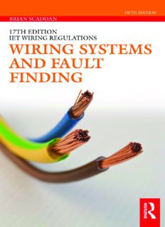 Wiring Systems and Fault Finding for Installation Electricians
