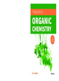 Wiley s Problems in Organic Chemistry ( With Solutions ) for IIT JEE Main and Advanced Dr. K Singh