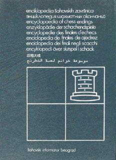 Encyclopaedia of Chess Endings, Vol 4 - Rook Endings, Part Two