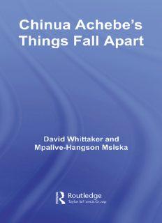 Chinua Acheb's Things Fall Apart