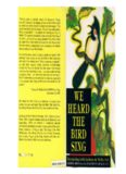 We Heard the Bird Sing: Interacting with Anthony de Mello, S.J.