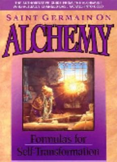 St Germain on Alchemy Science of Self Transformation