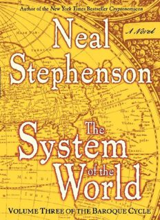 The System of the World (The Baroque Cycle, Vol. 3)