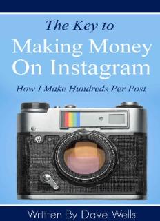 The Key to Making Money on Instagram
