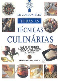 LE CORDON BLEU - TODAS AS TECNICAS CULINARIAS
