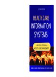 Health Care Information Systems: A Practical Approach for Health Care Management. Second Edition