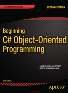 Beginning C# Object-Oriented Programming - All IT eBooks