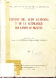 estudio del alto guadiana . y de la altiplanicie del campo de montiel